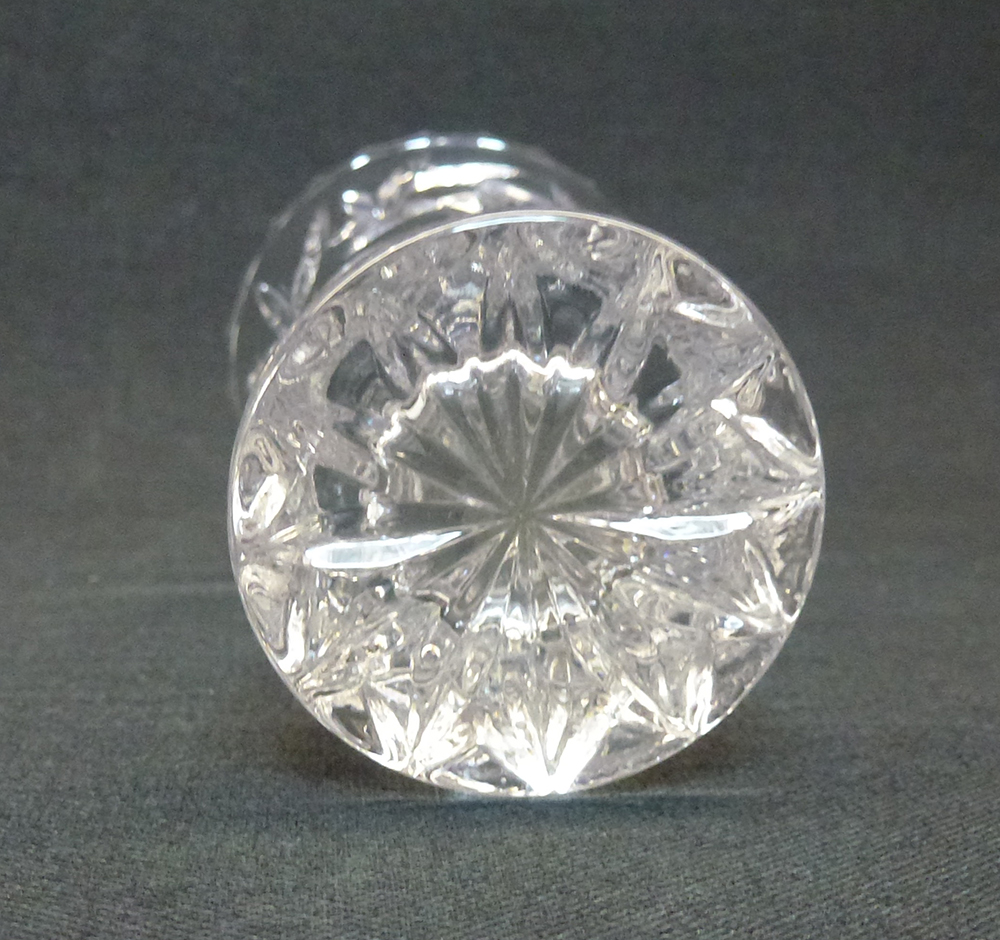 Lenox fine crystal small 4 bud flower vase from czech republic for sale is one 1 vintage lenox vase commonly referred to as a bud vase this piece fine crystal in the sunburst pattern made in the czech republic by reviewsmspy